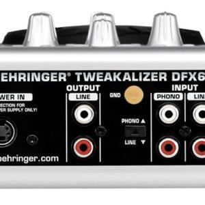افکتور دی جی behringer DFX69 در حد آک