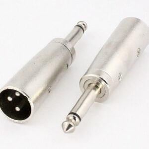 تبدیل کنون نری XLR به جک نری میکروفن 6.5mm